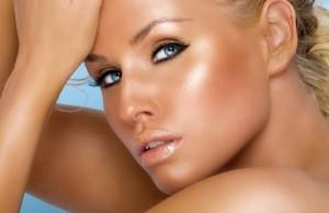 maquiagem pele iluminada