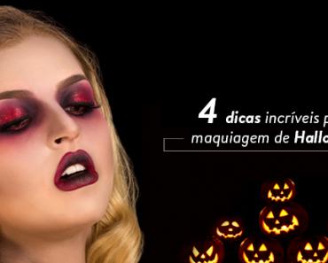 maquiagem de hallowen