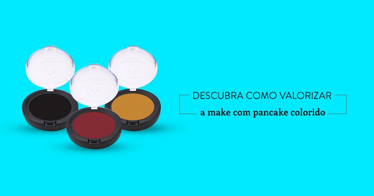 pancake colorido