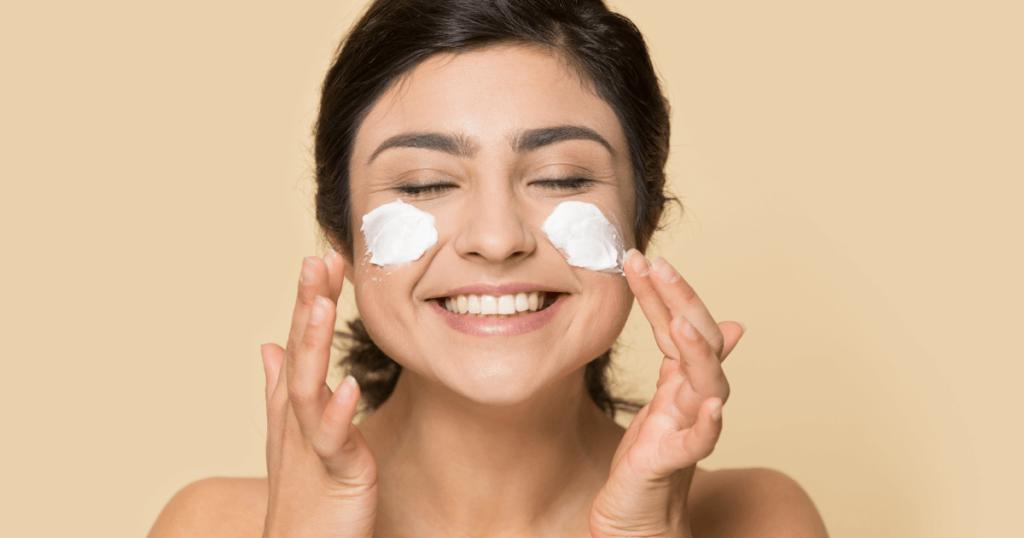 hidratação na limpeza de pele