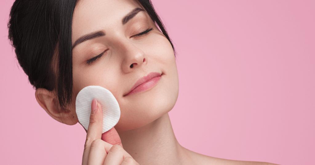 tonificação na limpeza de pele