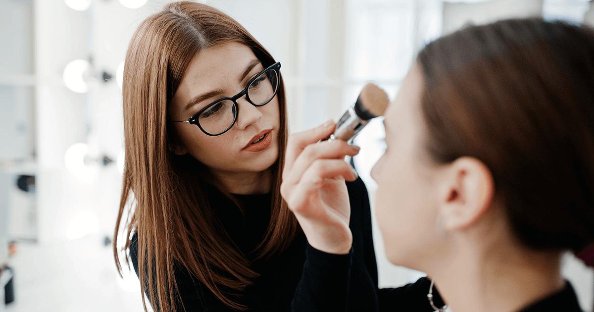 O maquiador de editorial