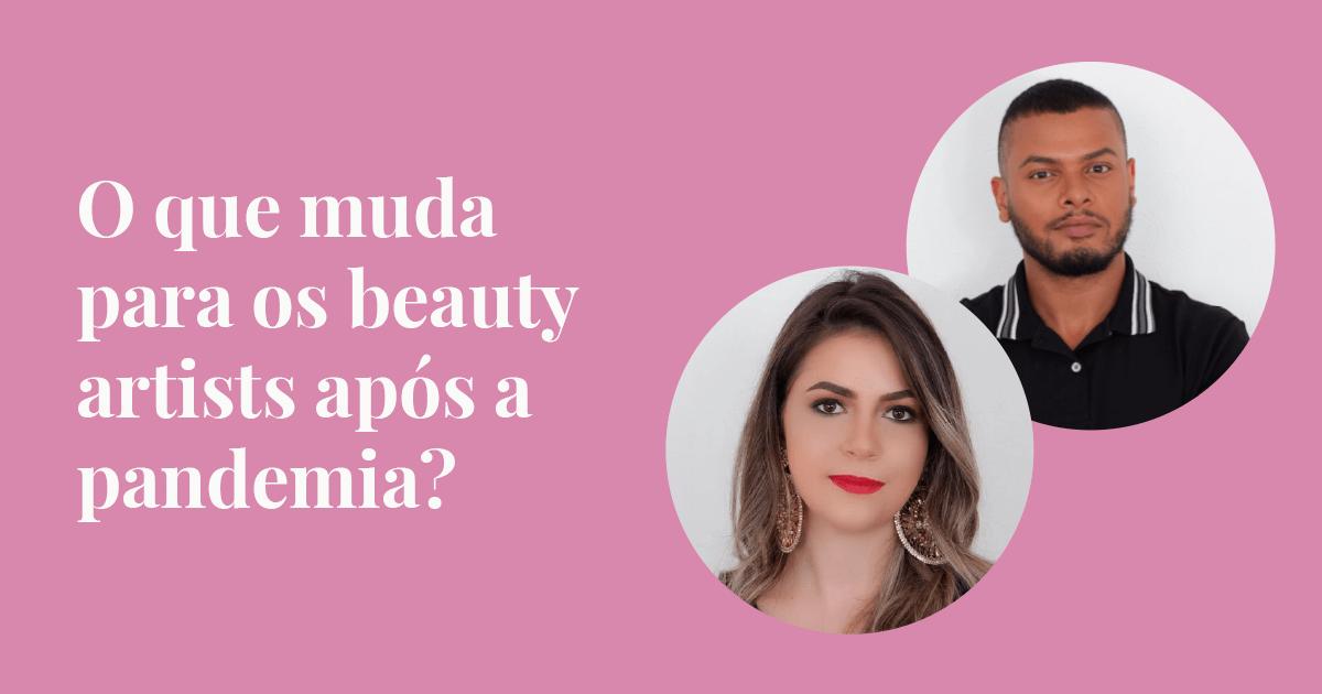 Beauty artists na pandemia