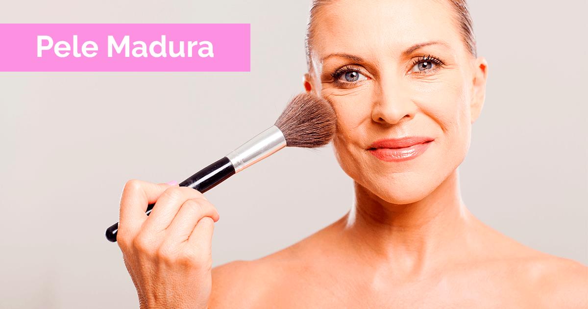 Curso de maquiagem online para pele madura