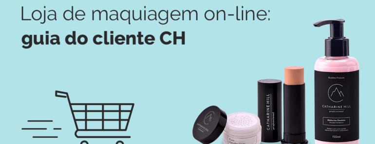 Loja online de maquiagem