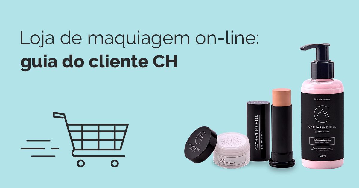 Loja de maquiagem on-line