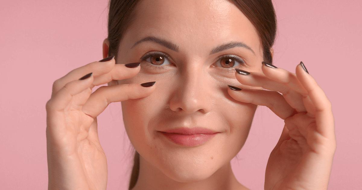 Os cuidados com a pele na região dos olhos