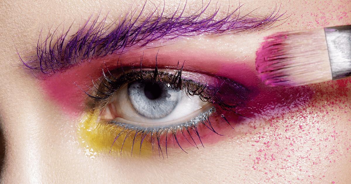 A percepção das cores