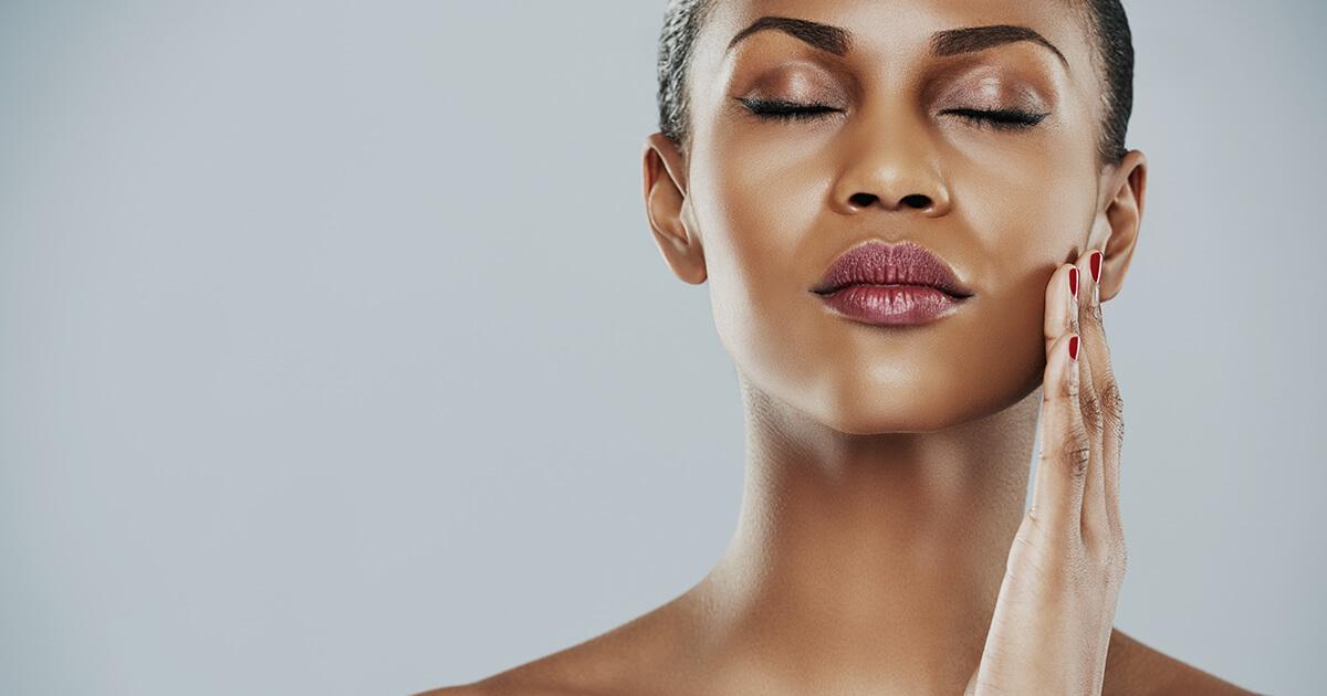 Como conseguir esse efeito para a pele?