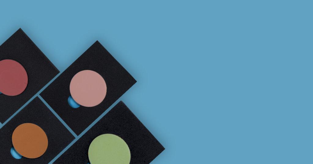 Corretivos coloridos para camuflar