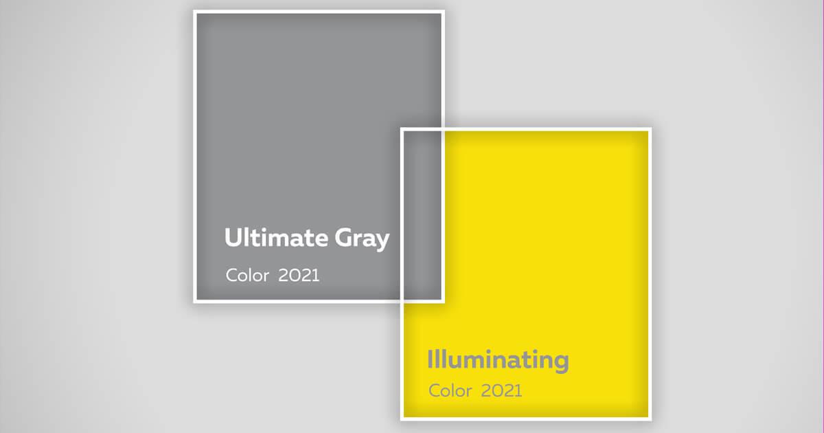 A referência na escolha das cores