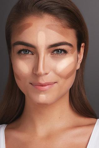 Como afinar o rosto com contorno