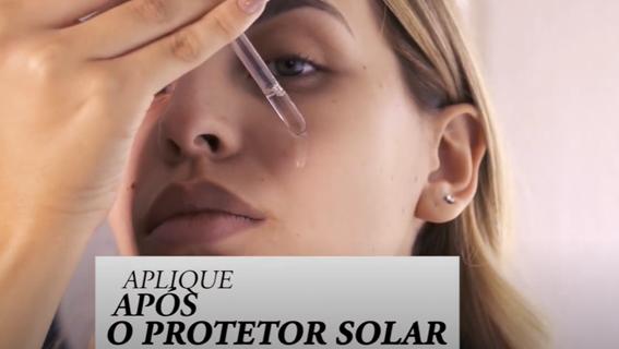 Tutorial aplicar blindagem Pri Lessa após o filtro solar
